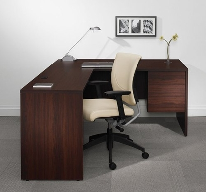 Picture of Global G3072SPR-G2442EL L Shaped Desk