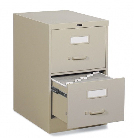 Picture of Global 25-250 Two Drawer Vertical Legal File