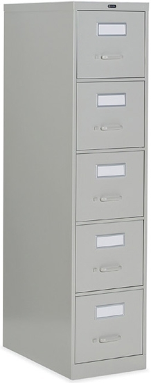 Picture of Global 26-500 Five Drawer Vertical Letter File