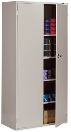 Picture of Global 9336-S72L 2 Door Office Storage Cabinet