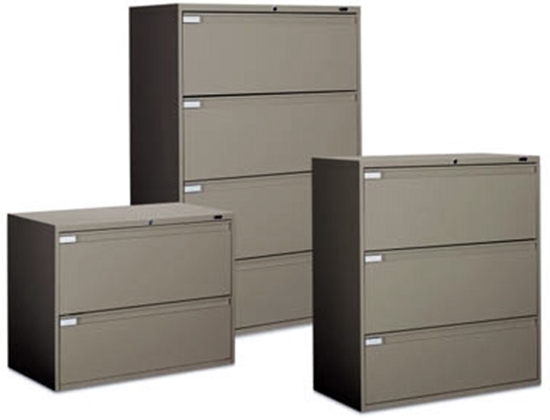 Picture of Global 9342P-2F1H 2 Drawer Lateral File