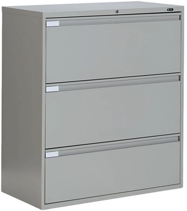 Picture of Global 9342P-3F1H 3 Drawer Lateral File Cabinet