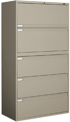 Picture of Global 9342P-5F1H 5 Drawer Lateral File