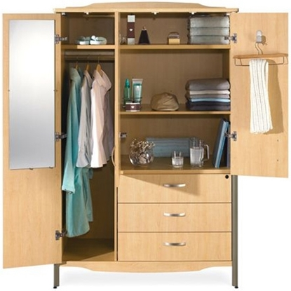 Picture of Global GCLWC01 Sonoma Wardrobe Cabinet