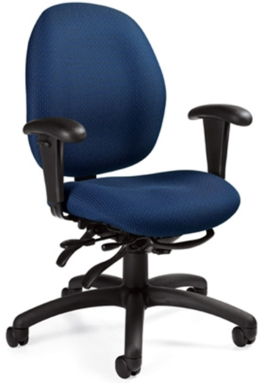 Picture Of Global 3141 3 Low Back Office Chair