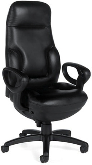 Picture of Global 2424-18 Executive Leather Office Chair