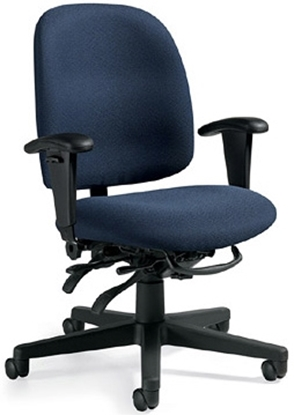 Picture of Global 3212 Mid Back Office Chair