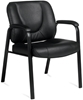 Picture of Offices to Go OTG3915B Leather Guest Office Chair