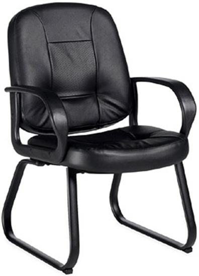Picture of Global 4004 Leather Guest Office Chair
