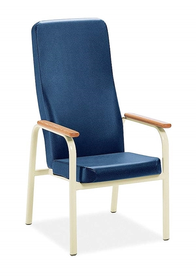 Global Gc7605 High Back Guest Arm Chair