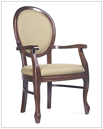 Picture of Global GC4163 Birmingham Wood Armchair
