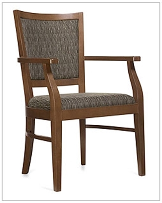 Picture of Global GC4162 Desmond Wood Armchair