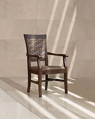 Picture of Global GC3789 Wood Dining Armchair