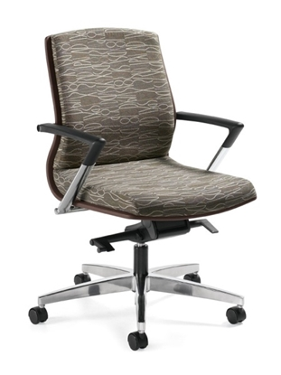 Picture of Global 8491 Mid Back Executive Office Chair