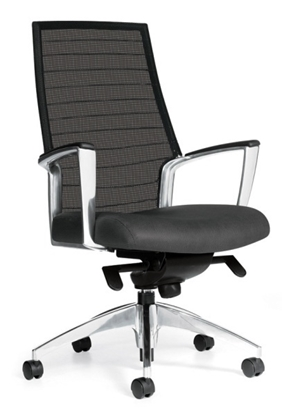 Picture of Global 2676LM-2 Mesh Back Chair