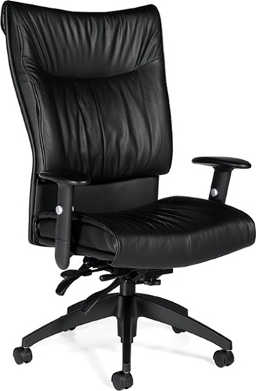 Picture of Global 4690LM-3 High Back Leather Chair