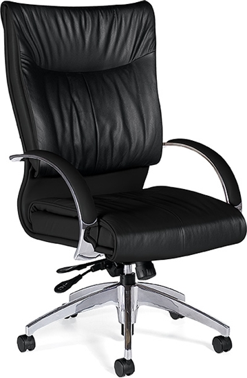 Picture of Global 4696LM-4 High Back Leather Chair