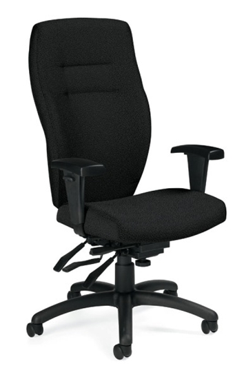 Picture Of Global 5080 3 Synopsis High Back Chair