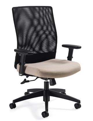 Picture of Global 2221-4 Mid Back Mesh Office Chair