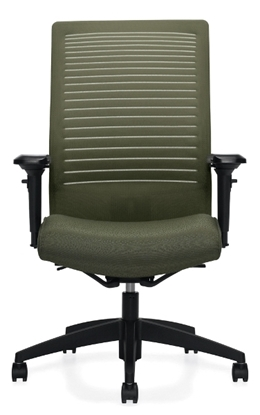 Picture Of Global 2661 8 High Back Office Chair