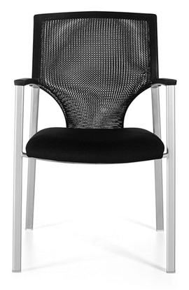 Picture of Global 8585 Mesh Guest Office Chair