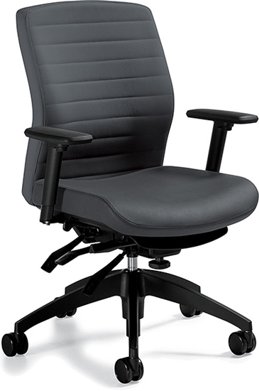 Picture of Global 2852-3 Mid Back Executive Chair