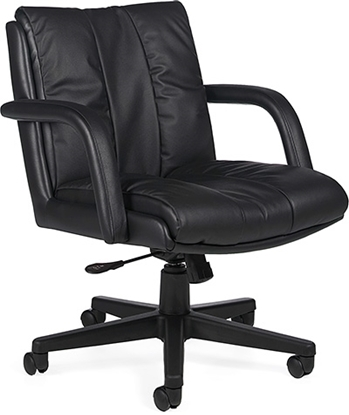 Picture of Global 3967 Low Back Leather Chair