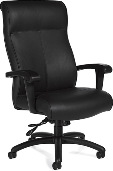 Picture Of Global 3767 Eco Friendly Leather Office Chair