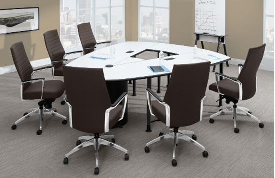 Picture Of Global Lwing10 10 Ft Conference Room Table