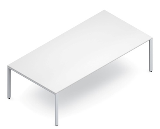 Global PN Ft White Conference Table - 8 ft conference table