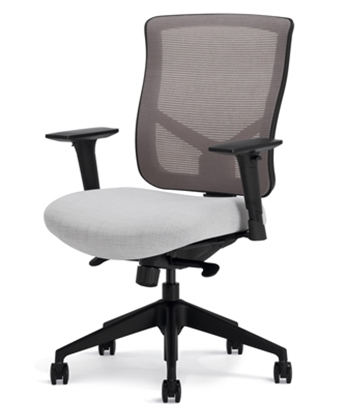 Picture of Highmark 607-E1-SS3-A56 Modern Mesh Mid Back Chair