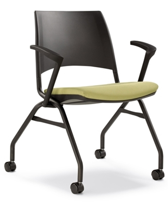 Picture of Highmark 1309 Stacking Office Chair with Arms