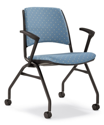 Picture of Highmark 1309UB Stacking Office Chair with Arms
