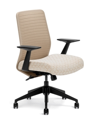 Picture of Highmark 7107K-S2-A40 Modern Adjustable Office Chair