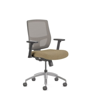 Picture of Highmark 1507-E1-A71-B12 Mesh-Back Synchro Tilt Chair