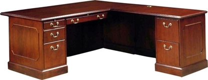 Picture of JSI BG3066LD L Shaped Desk with Wood Veneer
