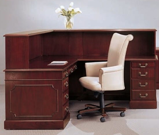 L Shaped Reception Desk With Drawers Jsi Furniture