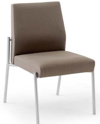 Picture of Lesro MG1102 Mystic Armless Guest Chair