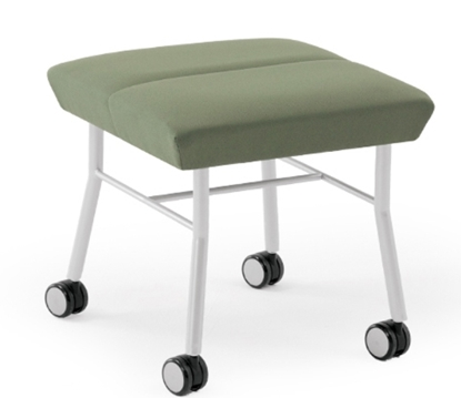 Picture of Lesro MG1001 Mystic 1 Seat Bench w/ Casters
