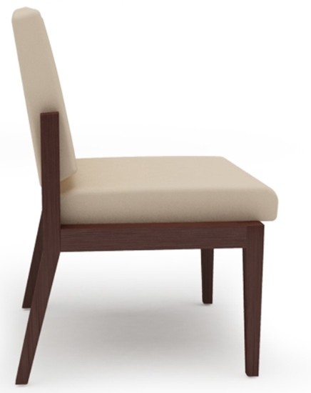 Picture of Lesro AW1102 Amherst Armless Guest Chair