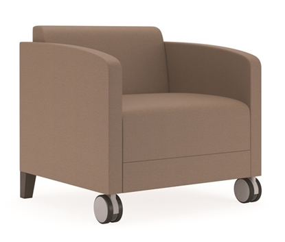 Picture of Lesro FT1101 Guest Chair with Casters
