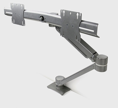 Picture of Safco EZKE2 Duel Screen Single Mount Monitor Arm