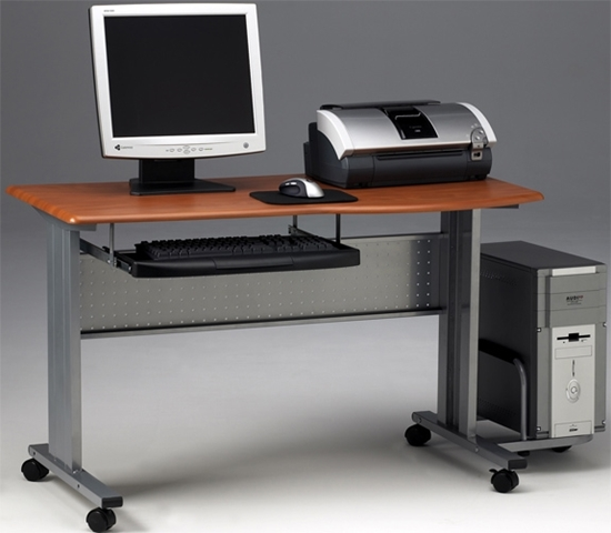 Picture of 8100TD Mobile Computer Desk