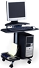 Picture of 948 Mobile Computer Workstation Cart