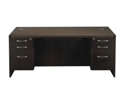 Picture of Safco ARD7236-APBF26  Double Pedestal Executive Desk