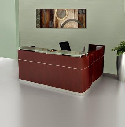 Picture of Safco NRSLBF L Shaped Reception Desk