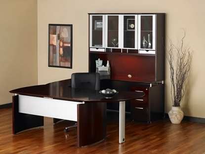 Picture of Safco NT31 U Shaped Desk with Hutch