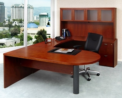 Picture of Safco MEU2 U Shaped Desk with Hutch