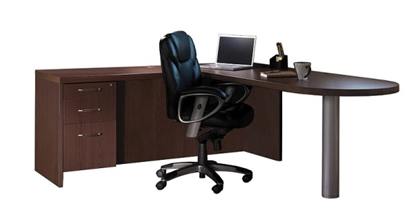 Picture of Safco AT11 L Shaped Laptop Desk
