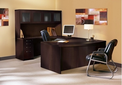 Picture of Safco AT5 U Shaped Desk with Hutch
